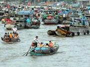 Ciudad vietnamita de Can Tho registra un buen desarrollo del turismo