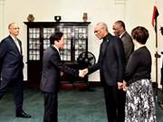 Presidente de Guyana aspira a una mayor cooperación con Vietnam