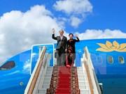 Presidente vietnamita inicia visita a Rusia