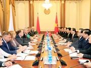 Alta confianza política: preciado tesoro de Vietnam y Belarús