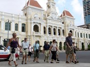 Ciudad Ho Chi Minh goza de aumento de turistas extranjeros