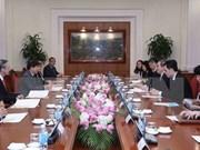 Partidos gobernantes de Vietnam y Singapur impulsan cooperación