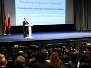 Vietnam saluda inversiones de Rusia, afirma presidente Dai Quang