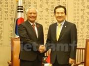 Fortalecen nexos parlamentarios Vietnam-Sudcorea