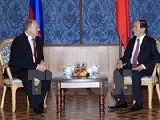 Presidente vietnamita cumple agenda de actividades en Rusia