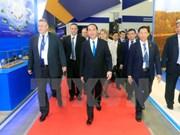 Presidente de Vietnam concluye visita a Rusia