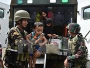 Combates en el sur de Filipinas obligan a 400 mil personas a abandonar sus hogares