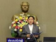Presidenta del Parlamento laosian inicia visita a Vietnam