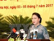 Consejo Popular de Hanoi analiza situación socioeconómica de la capital