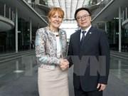 Realizan sexto diálogo entre PCV y Partido Socialdemócrata de Alemania