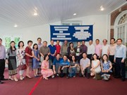 Embajadas de Vietnam y Laos en EE.UU. celebran encuentro amistoso