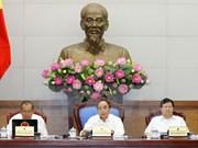 Gobierno vietnamita revisa documentos jurídicos