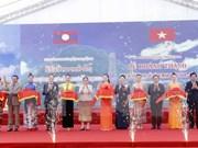 Inauguran sitio de reliquias históricas revolucionarias Vietnam-Laos