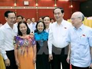 Presidente vietnamita ratifica ante electores compromiso con lucha anticorrupción