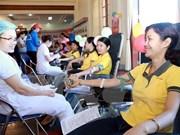 Campaña de donación de sangre atrae a miles de participantes en provincia vietnamita