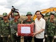 Recuerdan en Vietnam a los soldados caídos por la Patria