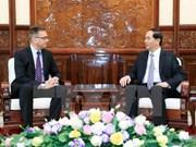 Presidente de Vietnam aplaude propuesta de Finlandia de establecer asociación estratégica en diversos sectores