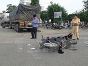 Disminuyen accidentes de tránsito en Vietnam en primer semestre de 2017