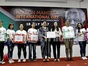 Celebran en Vietnam actividades caritativas en saludo al Día Internacional de Nelson Mandela