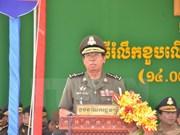 Funcionarios militares de Camboya enfatizan asistencia de Vietnam