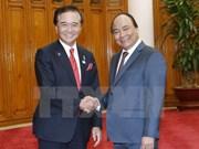 Premier de Vietnam recibe al gobernador de prefectura japonesa de Kanagawa