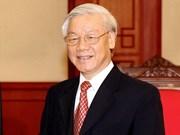 Máximo dirigente partidista de Vietnam visitará Camboya