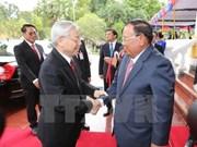 Vietnam y Laos intercambian felicitaciones por aniversario de lazos diplomáticos