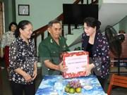 Presidenta del Parlamento vietnamita revisa situación socioeconómica de Quang Ngai