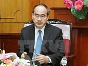 Celebran en Ciudad Ho Chi Minh aniversario de nexos Vietnam- Laos