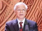 Periódicos camboyanos informan sobrela visita de dirigente partidista vietnamita