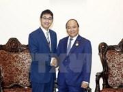 Primer Ministro de Vietnam recibe a asesor especial del premier japonés
