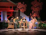 Transmiten en directo programa televisivo sobre relaciones entre Vietnam y Laos