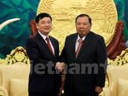 Dirigente laosiano destaca rol de Asociación de Amistad Vietnam – Laos