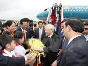 Efectúan en Camboya acto  de recibimiento oficial a secretario general de PCV