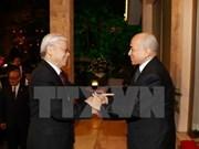 Prensa camboyana destaca visita del máximo dirigente partidista vietnamita