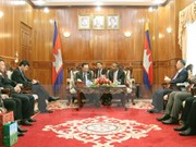Vietnam y Camboya abogan por garantizar  seguridad en frontera común