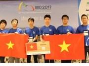 Vietnam obtiene mejores resultados en Olimpiada Internacional de Matemática