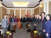 Dirigente partidista de Vietnam cumple intensa agenda de trabajo en Camboya