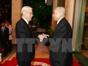 Secretario general del PCV envía mensaje de agradecimiento al rey camboyano