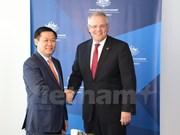 Australia con alto compromiso de respaldar a Vietnam por un desarrollo sostenible