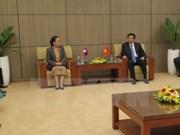 Oficinas parlamentarias de Vietnam y Laos fortalecen nexos