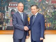 Vietnam y Rusia intensifican cooperación en ámbito de seguridad