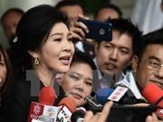 Expremier Yingluck Shinawatra acusa al primer ministro tailandés de ser deshonesto