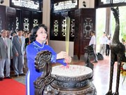 Diversas actividades en Vietnam en honor a los caídos por la patria