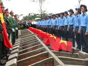 Efectúan en Camboya acto de homenaje a soldados voluntarios vietnamitas