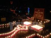 Vietnam honra a mártires y héroes de guerra con ceremonias de encendido de velas