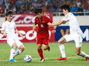 Sub-22 de Vietnam vence a equipo de estrellas sudcoreanas en partido amistoso