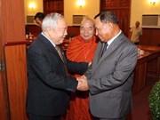 Dirigentes de Camboya aprecian respaldo vietnamita a su desarrollo