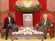 Mozambique desea ampliar lazos multisectoriales con Vietnam