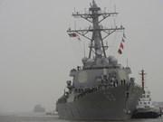 Marinero del USS Stethem reportado desaparecido en Mar del Este